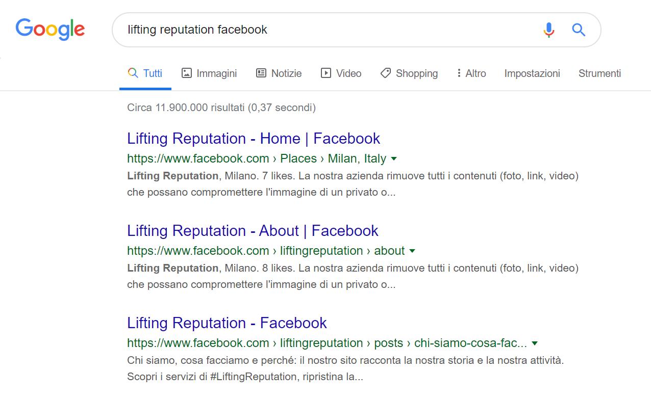 Navigare su Facebook senza registrarsi